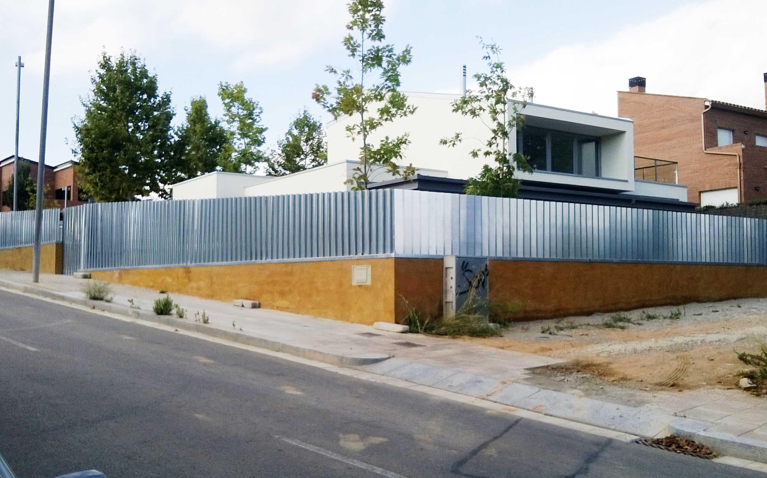 Vivienda unifamiliar aislada   Sant Cugat 2012